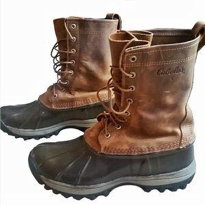 Cabela's Waterproof Winter Mens Boots Size 8